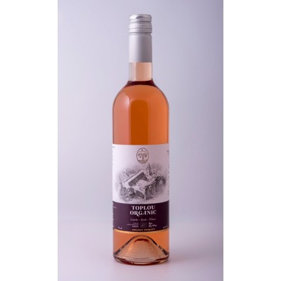 Toplou Organic Rose 750ml
