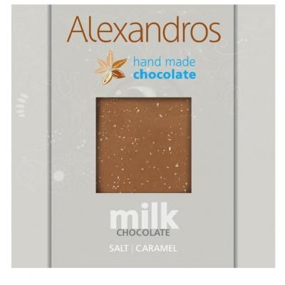 Milk Chocolate Salt and Caramel 90g
