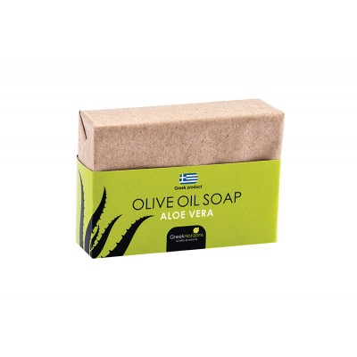Eco Paper- Olive Oil Soap Aloe Vera 100g
