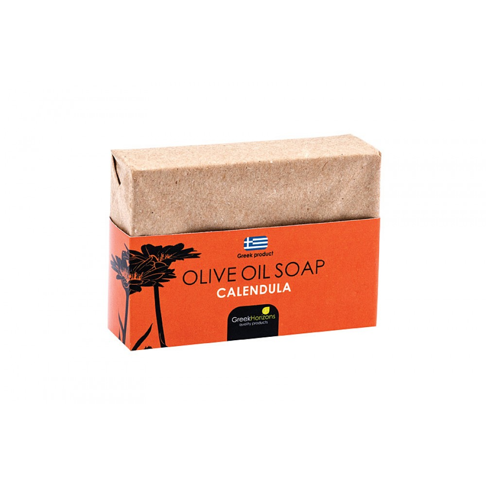 Eco Paper- Olive Oil Soap Calendula 100g