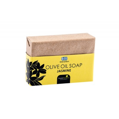 Eco Paper- Olive Oil Soap Jasmine 100g
