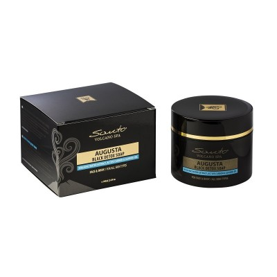 Santo Augusta Black Detox soap 100ml