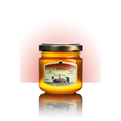 Thyme-Pine-Herbs Honey 140g- Toplou