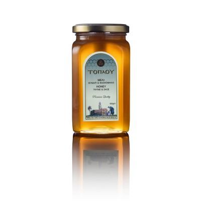 Sage Honey 500g- Toplou