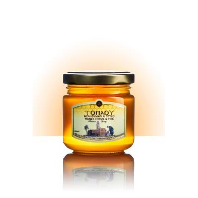 Thyme-Pine Honey 140g- Toplou