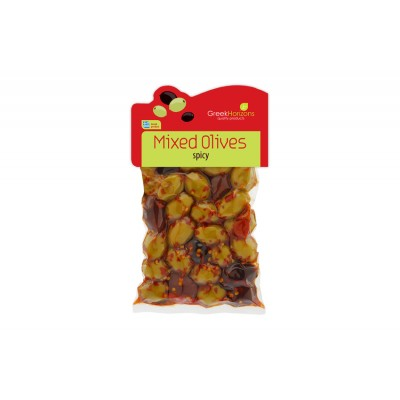 Mixed Olives Spicy 200g